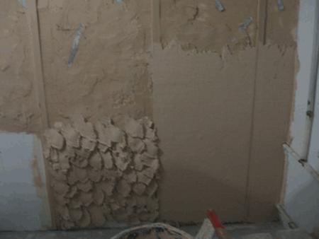 Штукатурка стен по маякам цементным